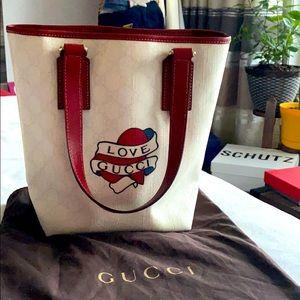 """Gucci mini bucket """"Love Gucci"""""""